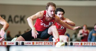 Men's track and field team breaks record at weekend competition