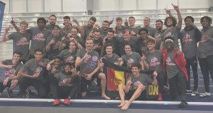 Men's track and field team claims MIAA Indoor Championships, women place third