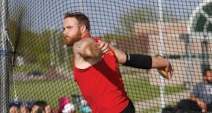 Men's track and field set new personal best records at meet