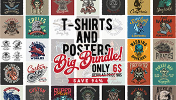 Download T-shirts & Posters Bundle