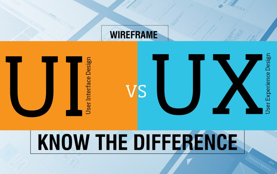 UX vs. UI: the differences & application in your design