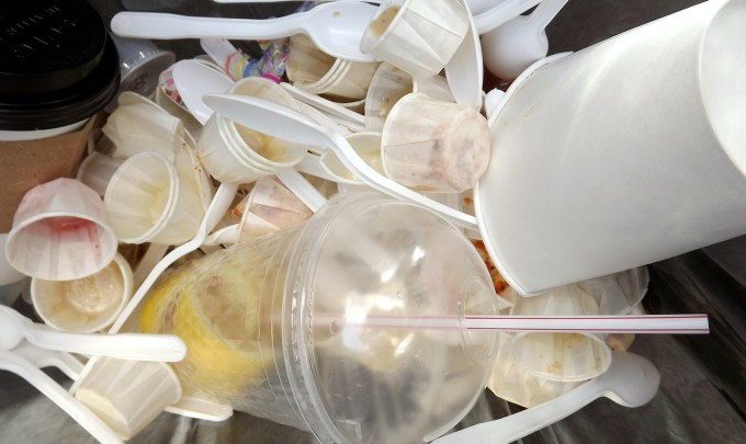 Is there a way to degrade plastic?