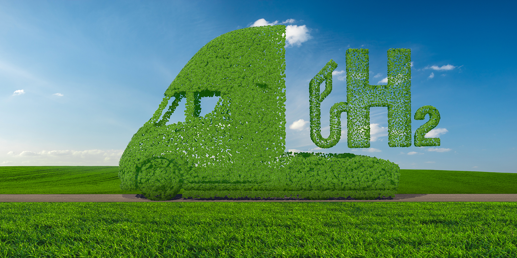 Why is green hydrogen the fuel of the present?