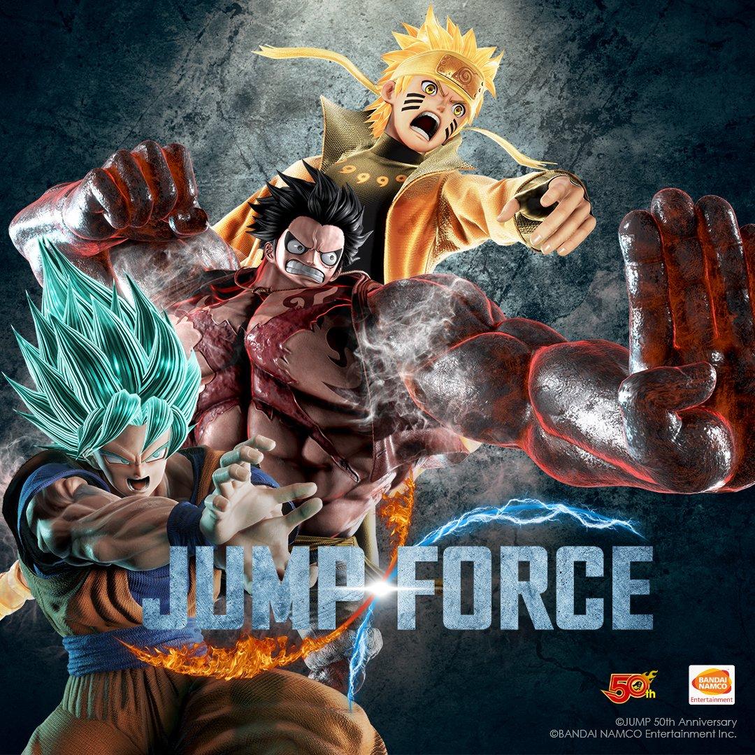 Jump Force Goku SSGSS
