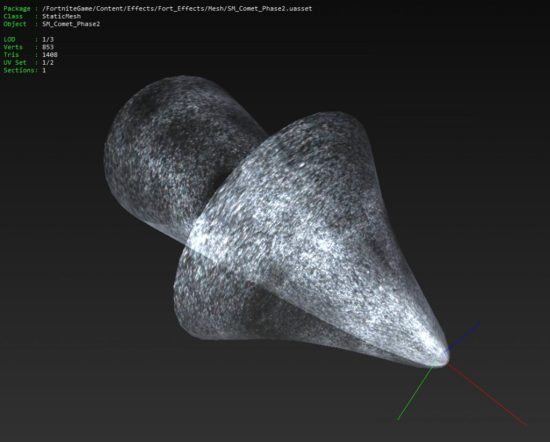 Fortnite Comet