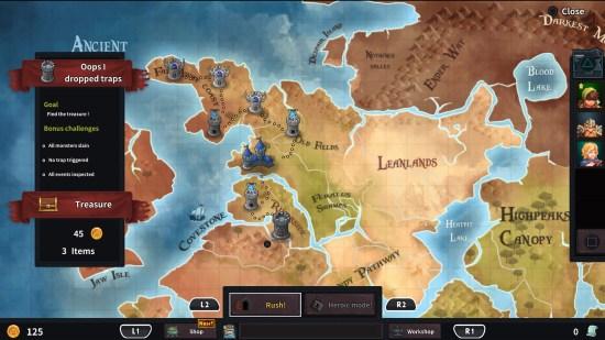 Dungeon Rushers Map