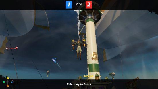 Rocket Arena KO Rocketball Game