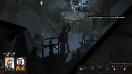 Disco Elysium: The Final Cut Asking Doomed commercial area