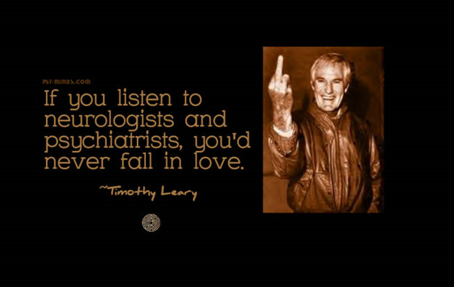 The History of Psychedelic Art, Timothy Leary