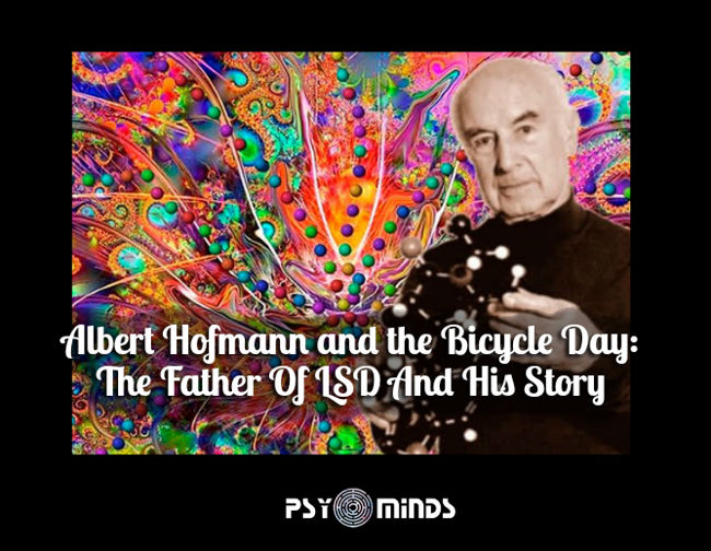 Albert Hofmann Bicycle Day Father LSD
