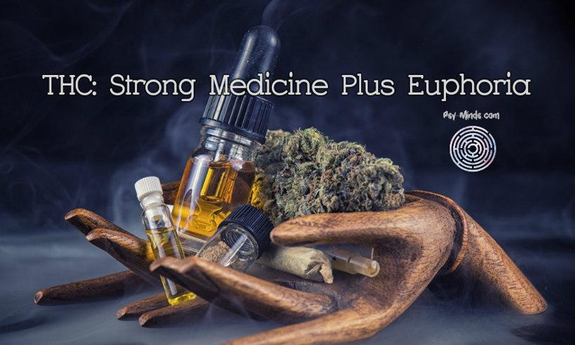 THC Strong Medicine Plus Euphoria 1