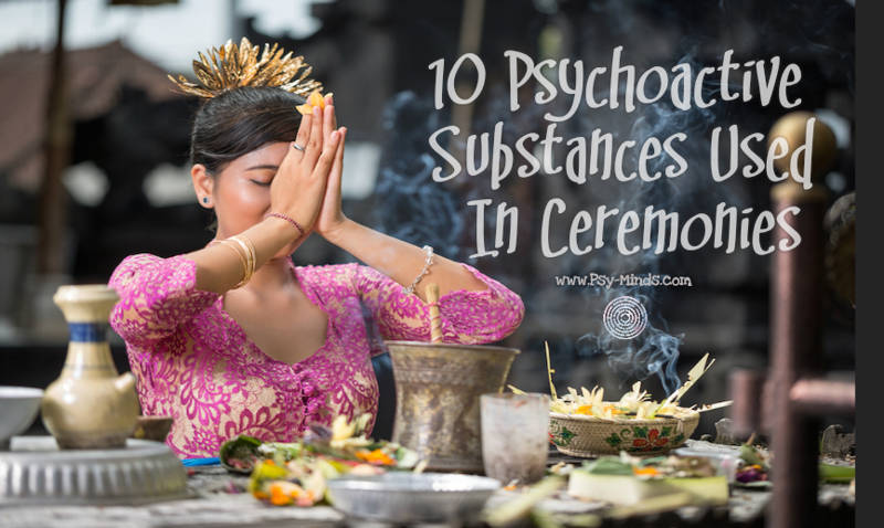 10 Psychoactive Substances Used In Ceremonies