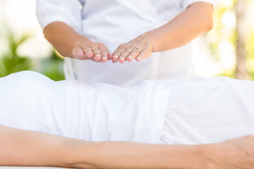 Reiki Hands on Healing With the Energy of Life1