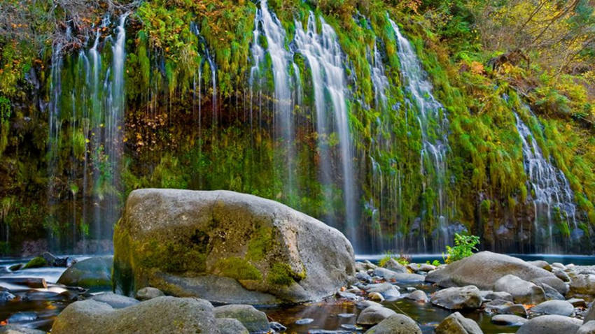 The Mysteries and Legends of Mount Shasta waterfalls