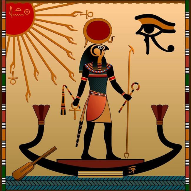 Güneş Tanrısı Horus