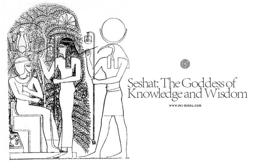 Seshat Τhe Goddess of Knowledge and Wisdom