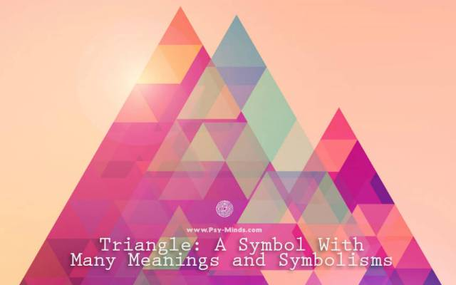 Upside Down Triangle Meaning >> Triangle A Symbol With Many Meanings And Symbolisms Psy Minds