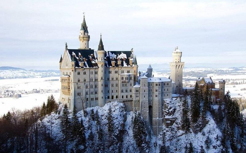 Neuschwanstein-Castle-Bavaria Germany fairy tale
