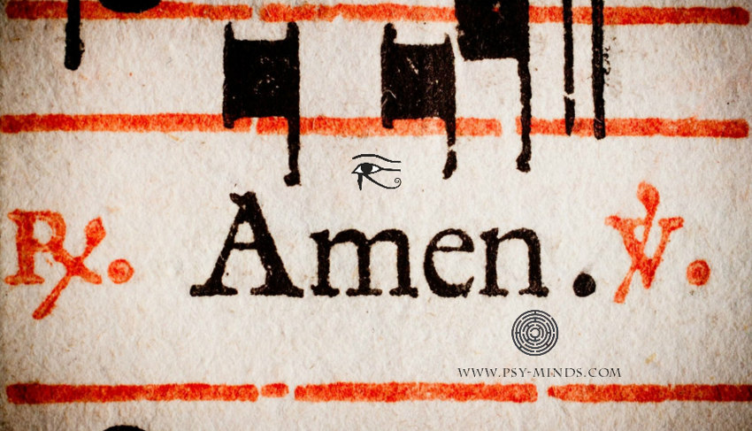 The Word Amen and the Egyptian Roots of It