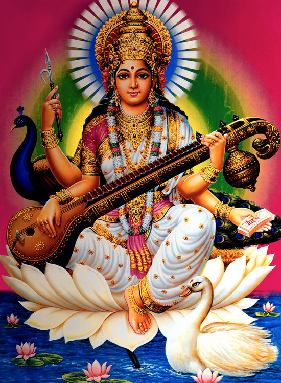 Brahma – The Creator of the Universe and of All Beings Saraswati