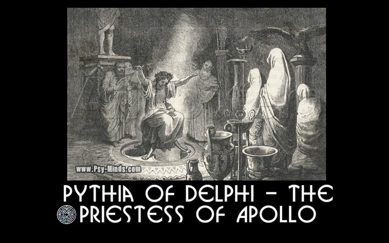 Pythia of Delphi - The Priestess of Apollo