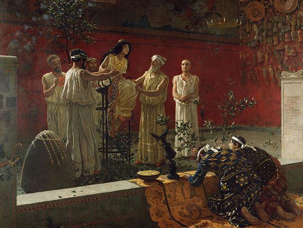 Pythia of Delphi - The Priestess of Apollo2