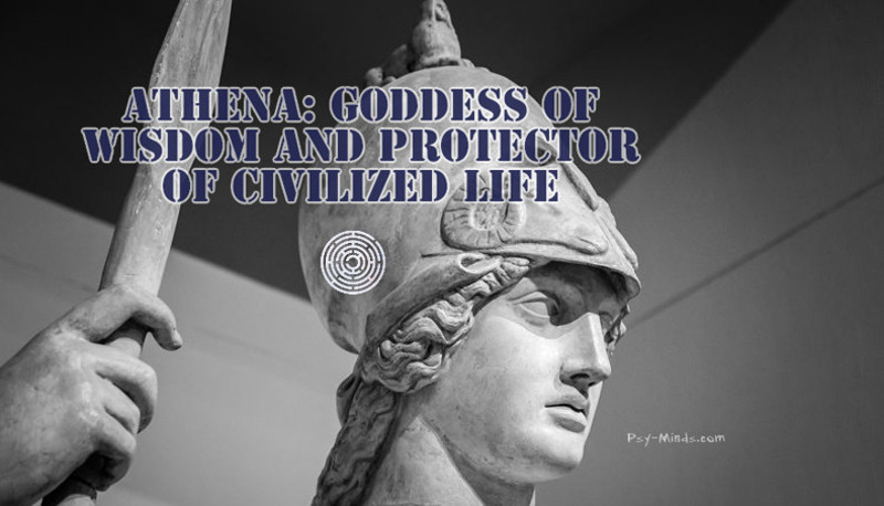 Athena Goddess of Wisdom And Protector Of Civilized Life