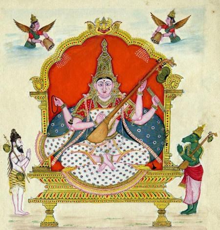 Goddess Saraswati 2