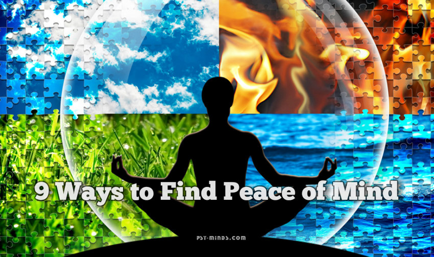 9 Ways to Find Peace of Mind