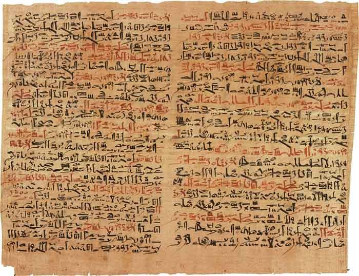 Herbalism Papyrus Ebers