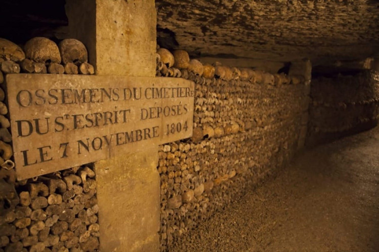 ParisCatacombs Haunted Places