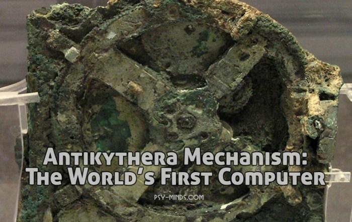Antikythera Mechanism The World's First Computer