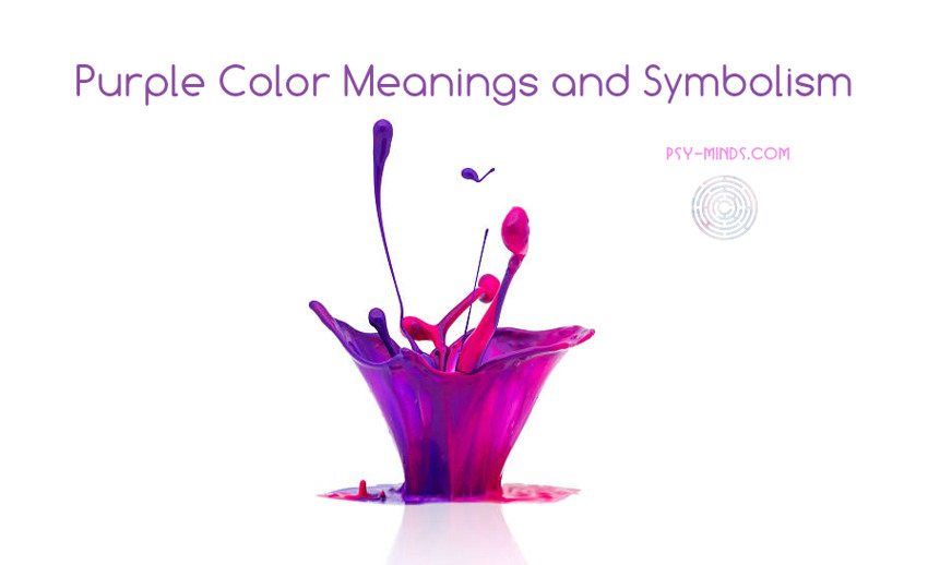 Purple Color Meanings And Symbolism Psy Minds