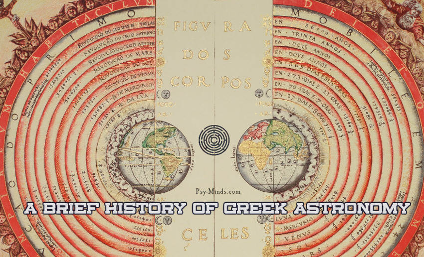 A Brief History of Greek Astronomy