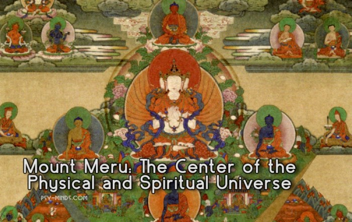 Mount Meru The Center of the Physical and Spiritual Universe