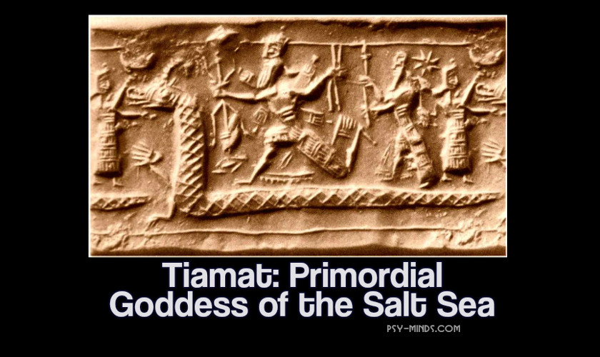 Tiamat Primordial Goddess of the Salt Sea