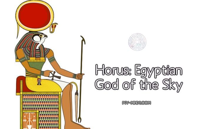 Horus Egyptian God of the Sky