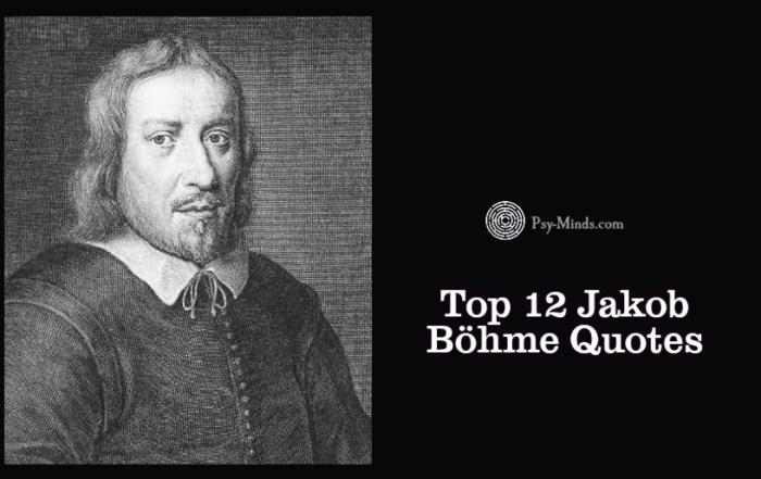 Top 12 Jakob Böhme Quotes