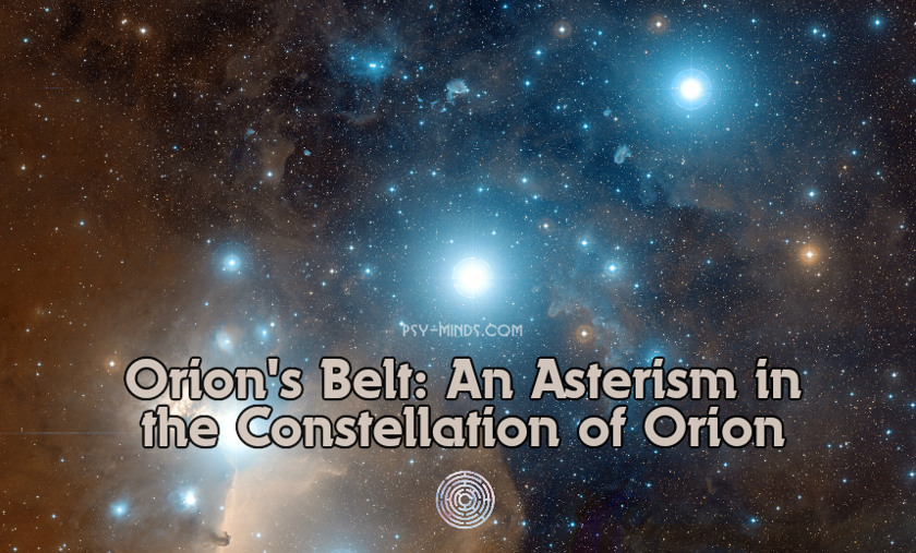 Orion's Belt An Asterism in the Constellation of Orion