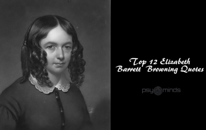 Top 12 Elizabeth Barrett Browning Quotes