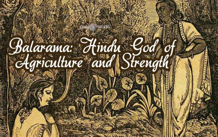 Balarama Hindu God of Agriculture and Strength