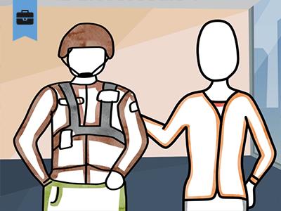 Creating a Veteran Hiring Program course image
