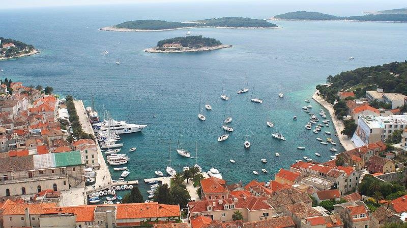 Rejs w Corwacji