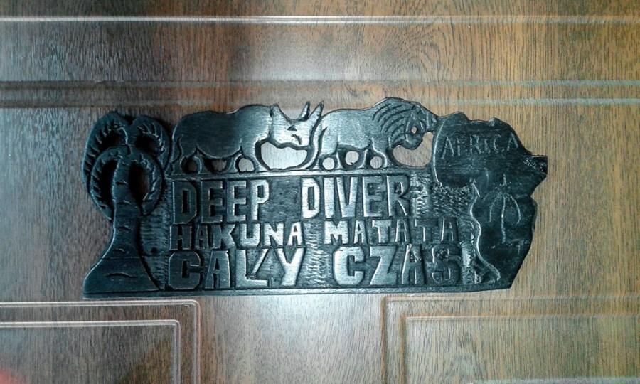 Czyli napis na drzwiach do bazy :)