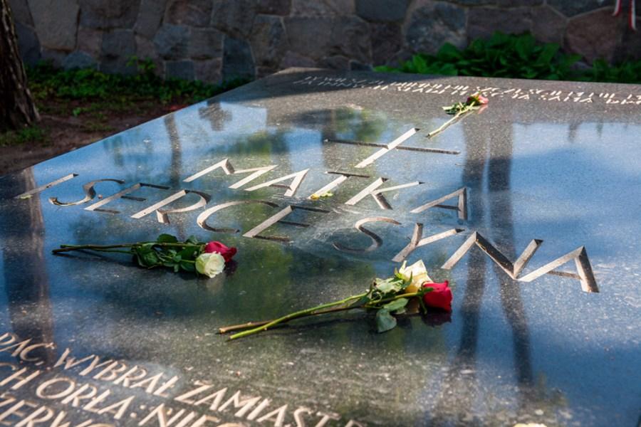 Cmentarz na Rossie - grób serca i matki Piłsudskiego