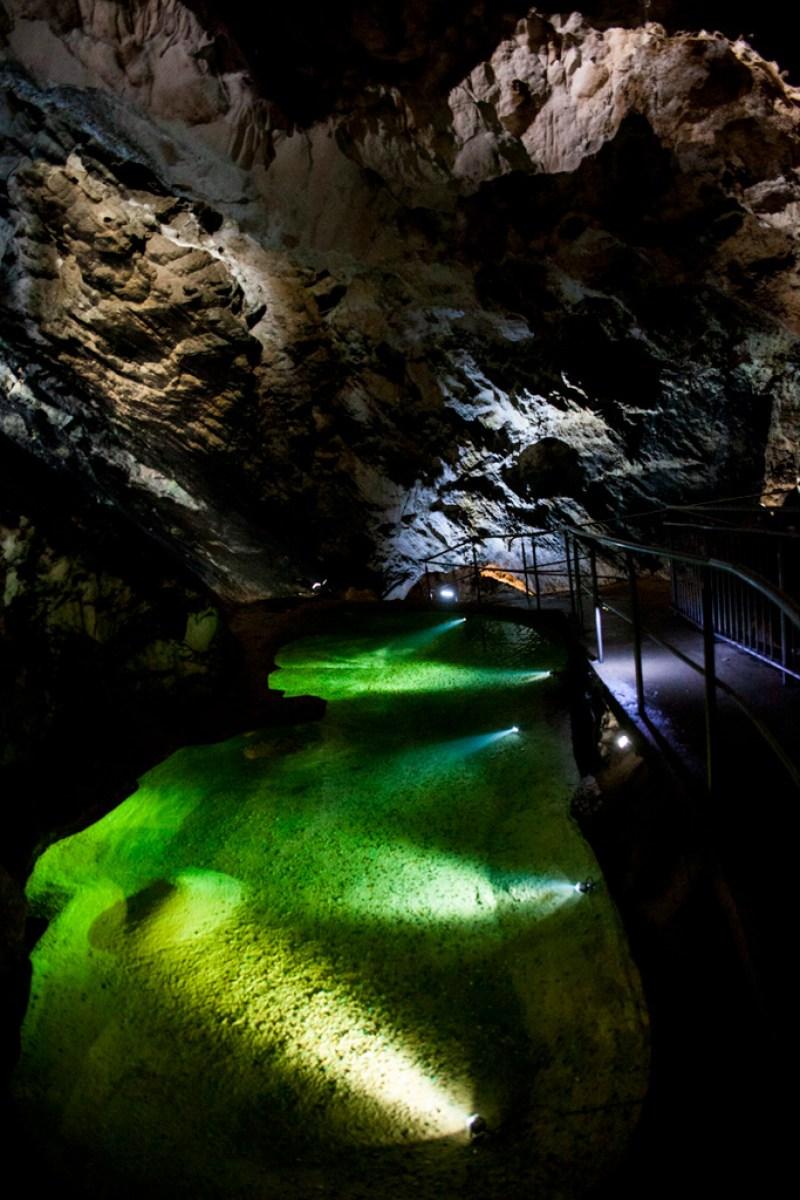 Jaskinia Bielańska - jeziorko