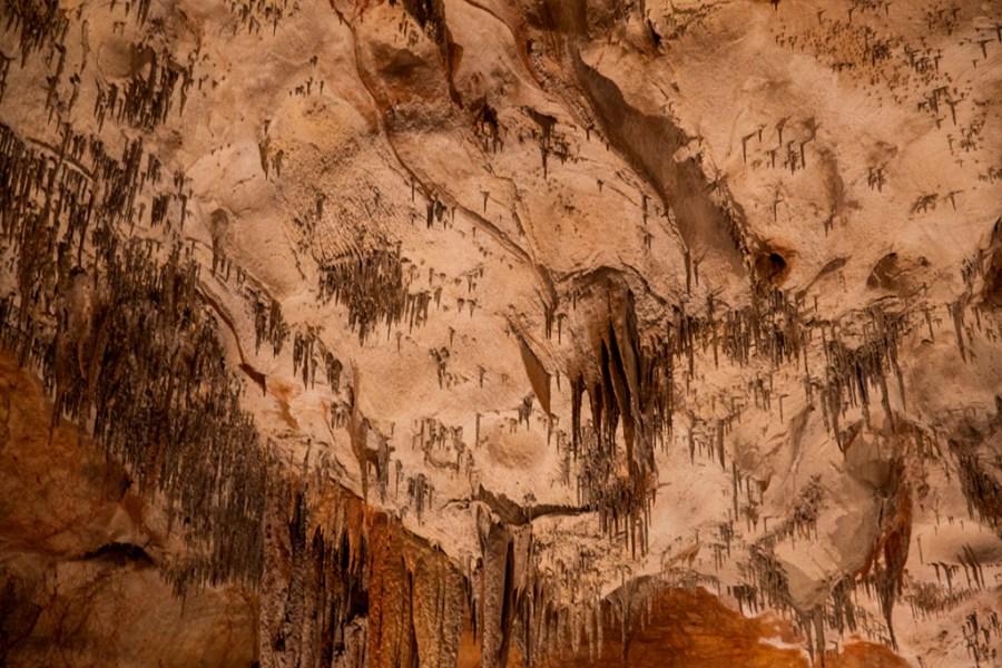 Jaskinia Domica - jak odwrócone do góry nogami porośnięte drzewami góry :)