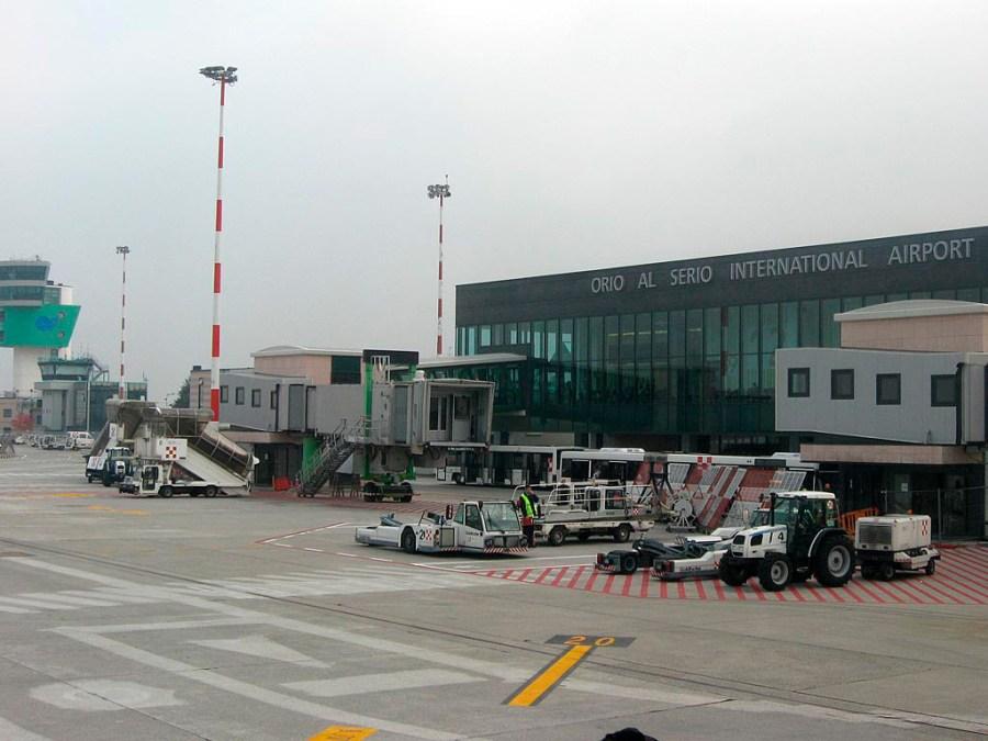 Na płycie lotniska Orio Al Serio (Bergamo)