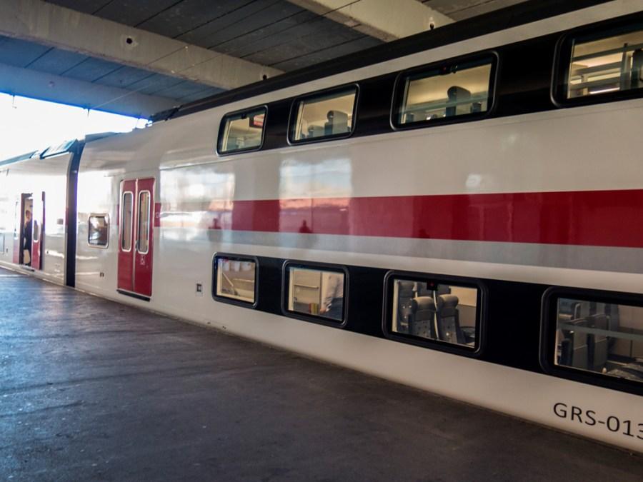 Pociąg Batumi - Tbilisi