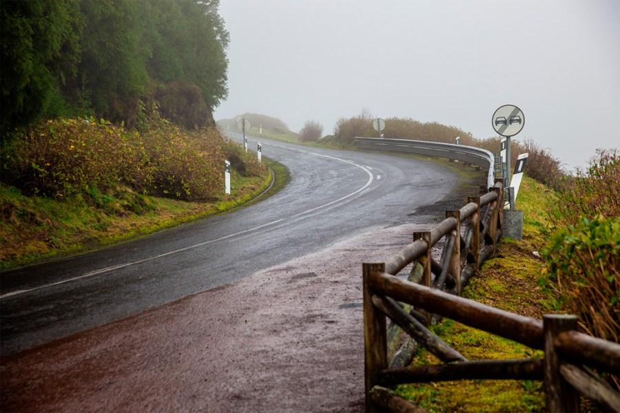 Azory we mgle - dośc typowa sytuacja w górach